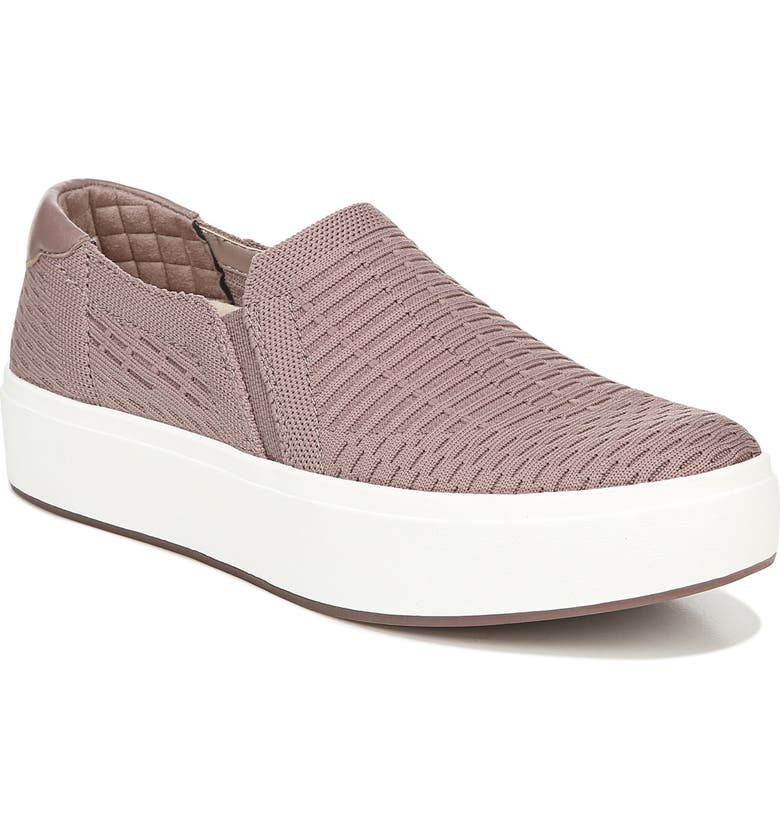 DR. SCHOLL'S Abbot Slip-On Sneaker, Main, color, PINK KNIT FABRIC