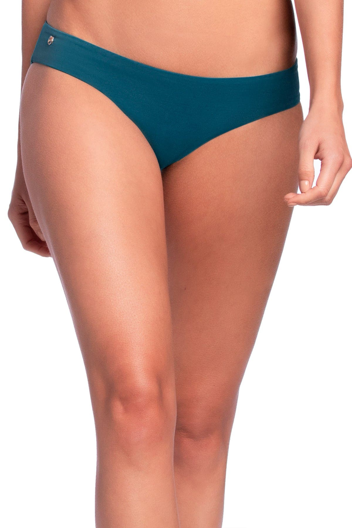 Image of Maaji Greenstone Sublime Chi Chi Cut Reversible Bikini Bottoms