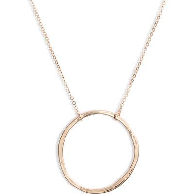 Ten79La Large Ring Pendant Necklace