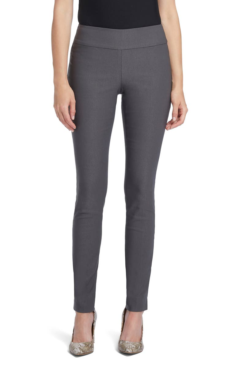 NIC+ZOE Wonderstretch Slim Leg Pants, Main, color, TIMBER