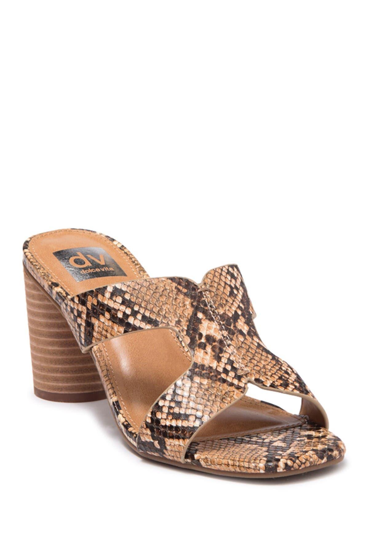 Image of DV DOLCE VITA Maud Block Heel Sandal
