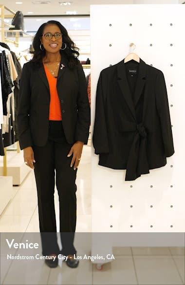 Tie Front Blazer, sales video thumbnail