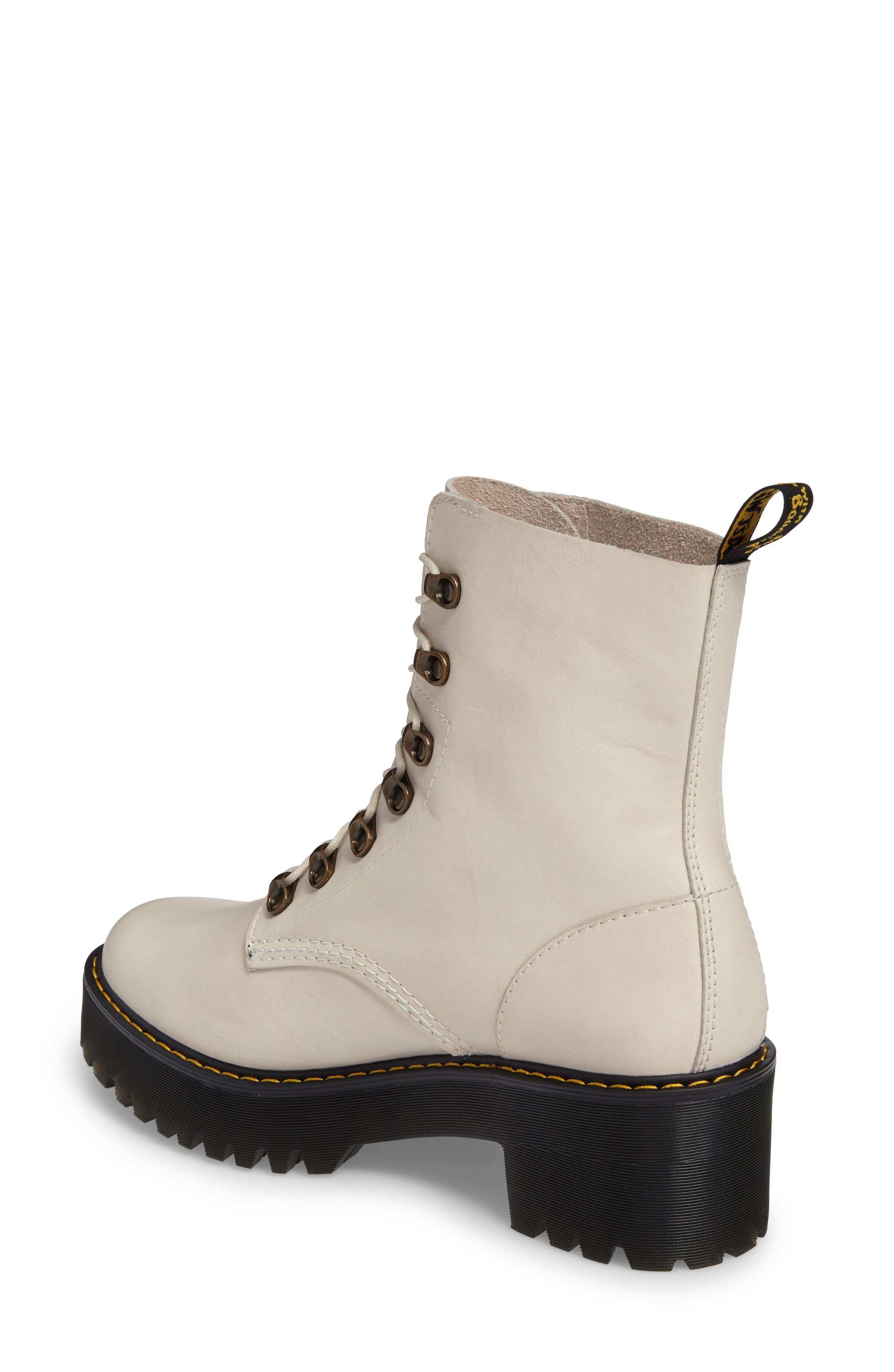 ,                             Leona Heeled Boot,                             Alternate thumbnail 8, color,                             115