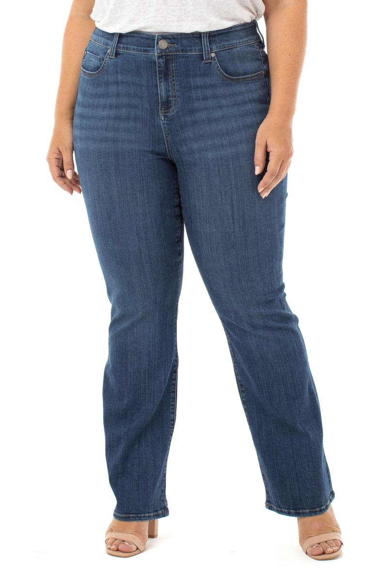 LIVERPOOL Lucy Bootcut Jeans, Main, color, BRONTE