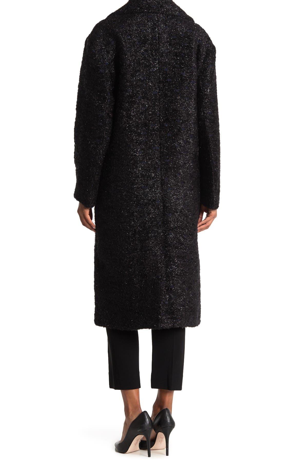 Image of Diane von Furstenberg Ariana Wool Blend Coat