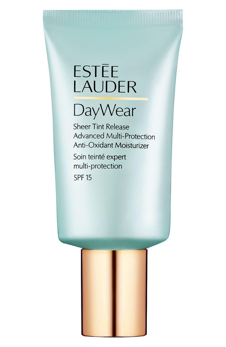 ESTÉE LAUDER DayWear Sheer Tint Release Advanced Multi-Protection Anti-Oxidant Moisturizer SPF 15, Main, color, NO COLOR