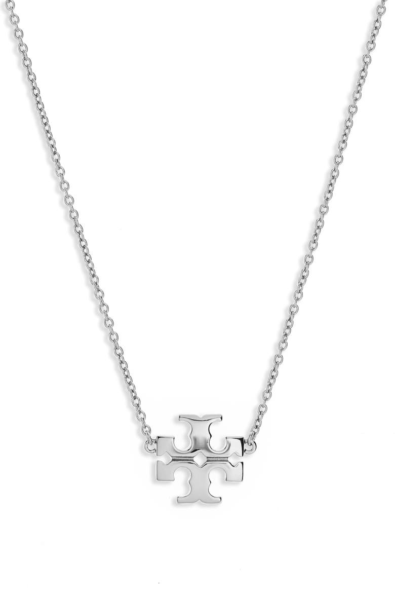 TORY BURCH Kira Pendant Necklace, Main, color, 040