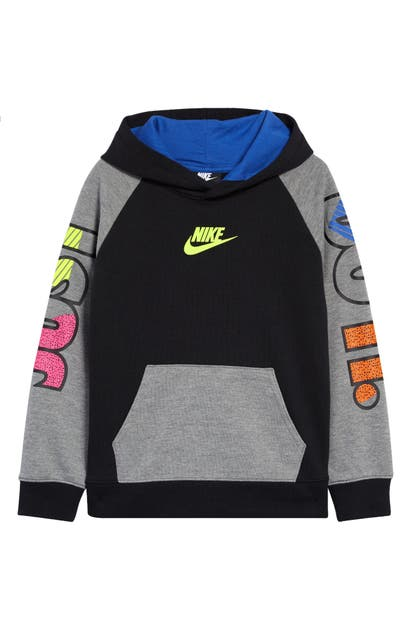 Nike KIDS' COLORBLOCK GRAPHIC HOODIE