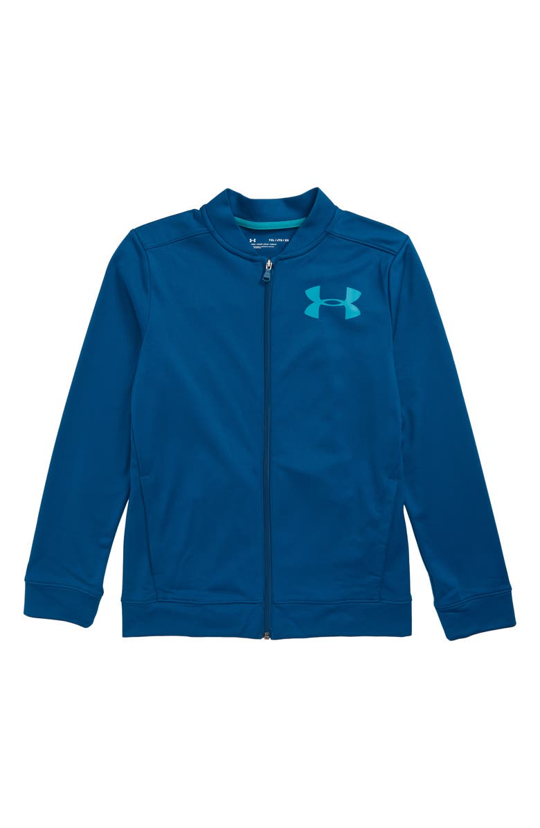 UNDER ARMOUR Pennant 2.0 Jacket, Main, color, TEAL VIBE/ TEAL RUSH