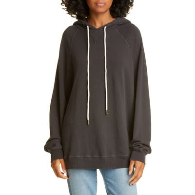 The Great. The Slouch Hoodie, Black