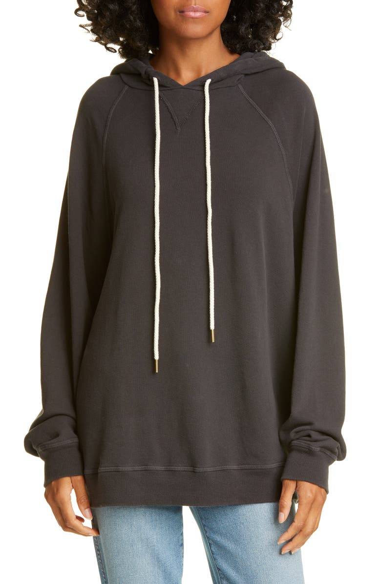 THE GREAT. The Slouch Hoodie, Main, color, 003