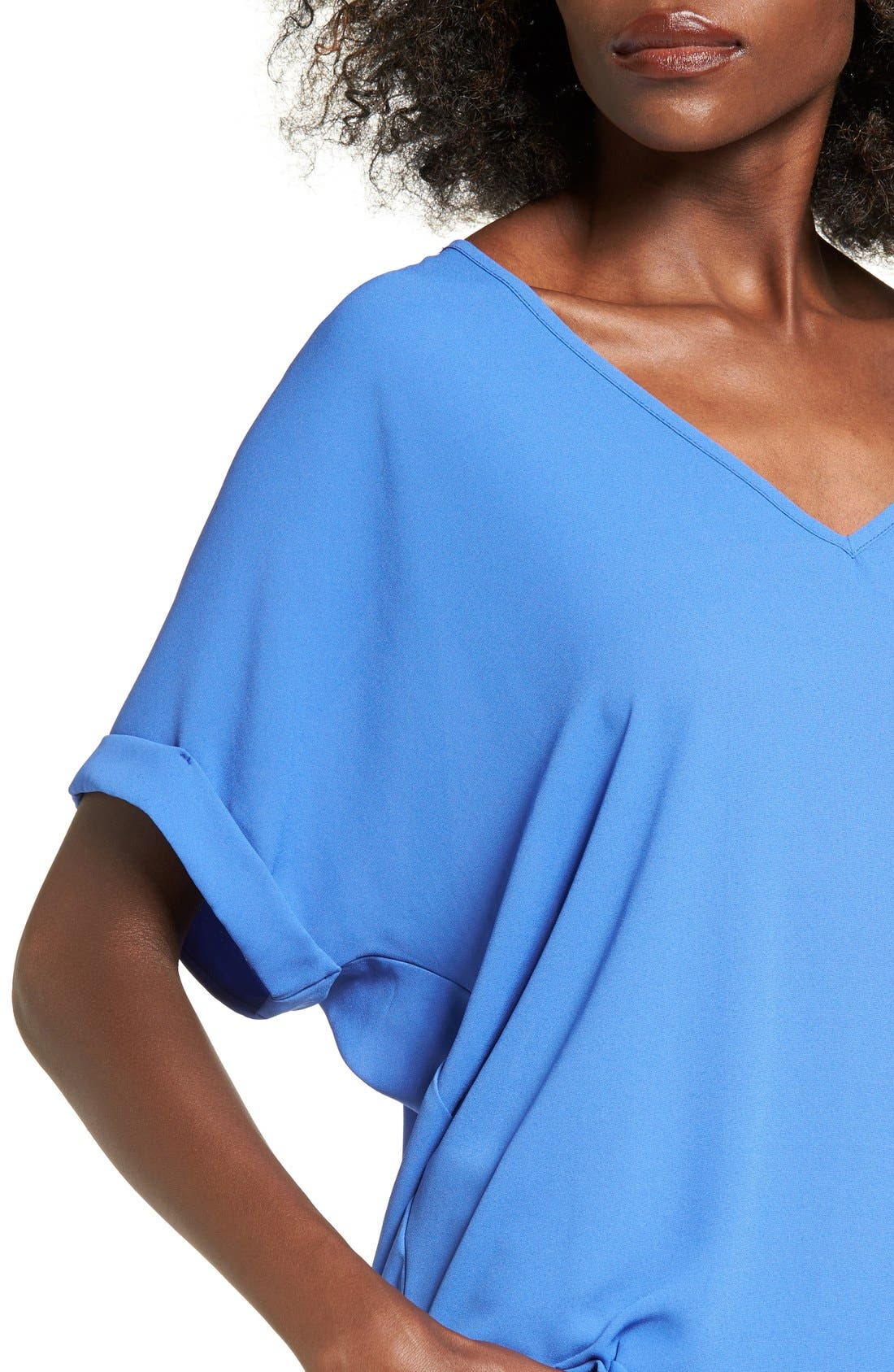 ,                             Lush Cuff Sleeve Woven Tee,                             Alternate thumbnail 118, color,                             454