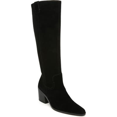 27 Edit Bellamy Knee High Boot, Wide Calf- Black