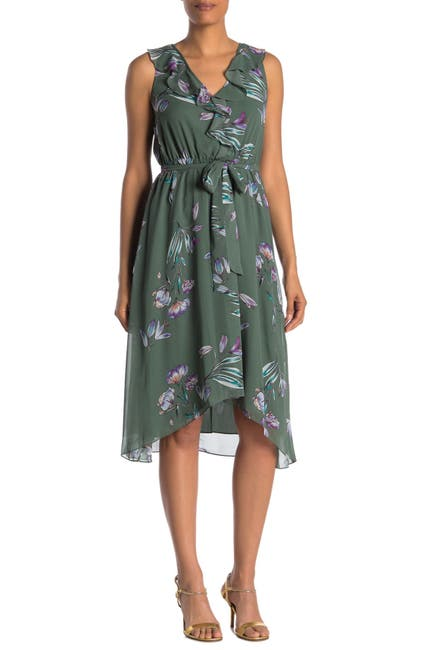 Image of Rachel Rachel Roy Odele Floral Ruffle Dress