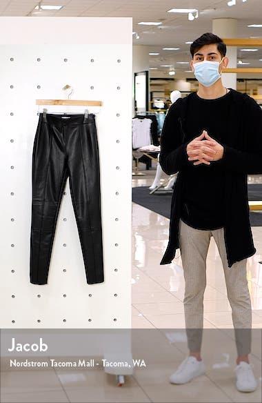 Sara Faux Leather Skinny Pants, sales video thumbnail