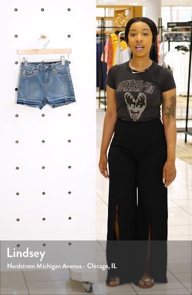 Biana Release Hem Shorts, sales video thumbnail