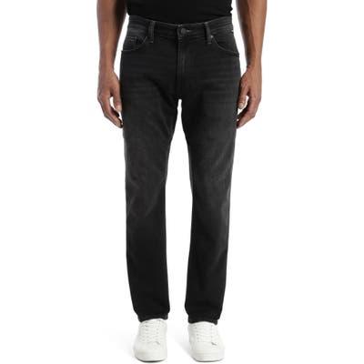 Mavi Jeans Marcus Slim Straight Leg Jeans, Black