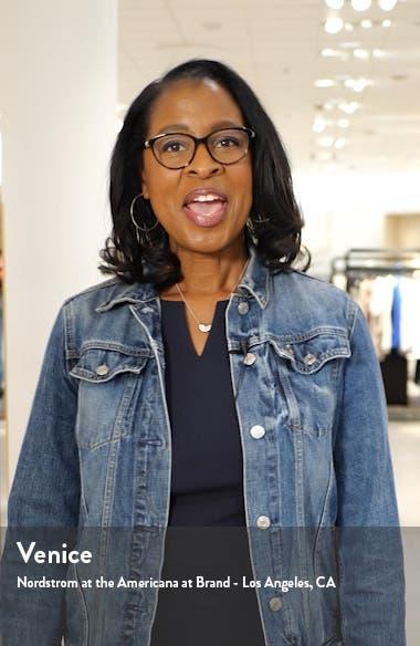 Jane Tie Shoulder Crop Jumpsuit, sales video thumbnail