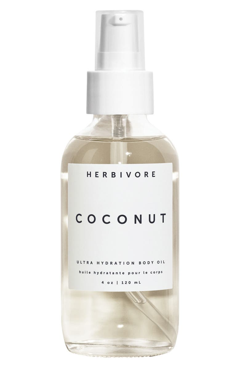 HERBIVORE BOTANICALS Coconut Ultra Hydration Body Oil, Main, color, NO COLOR