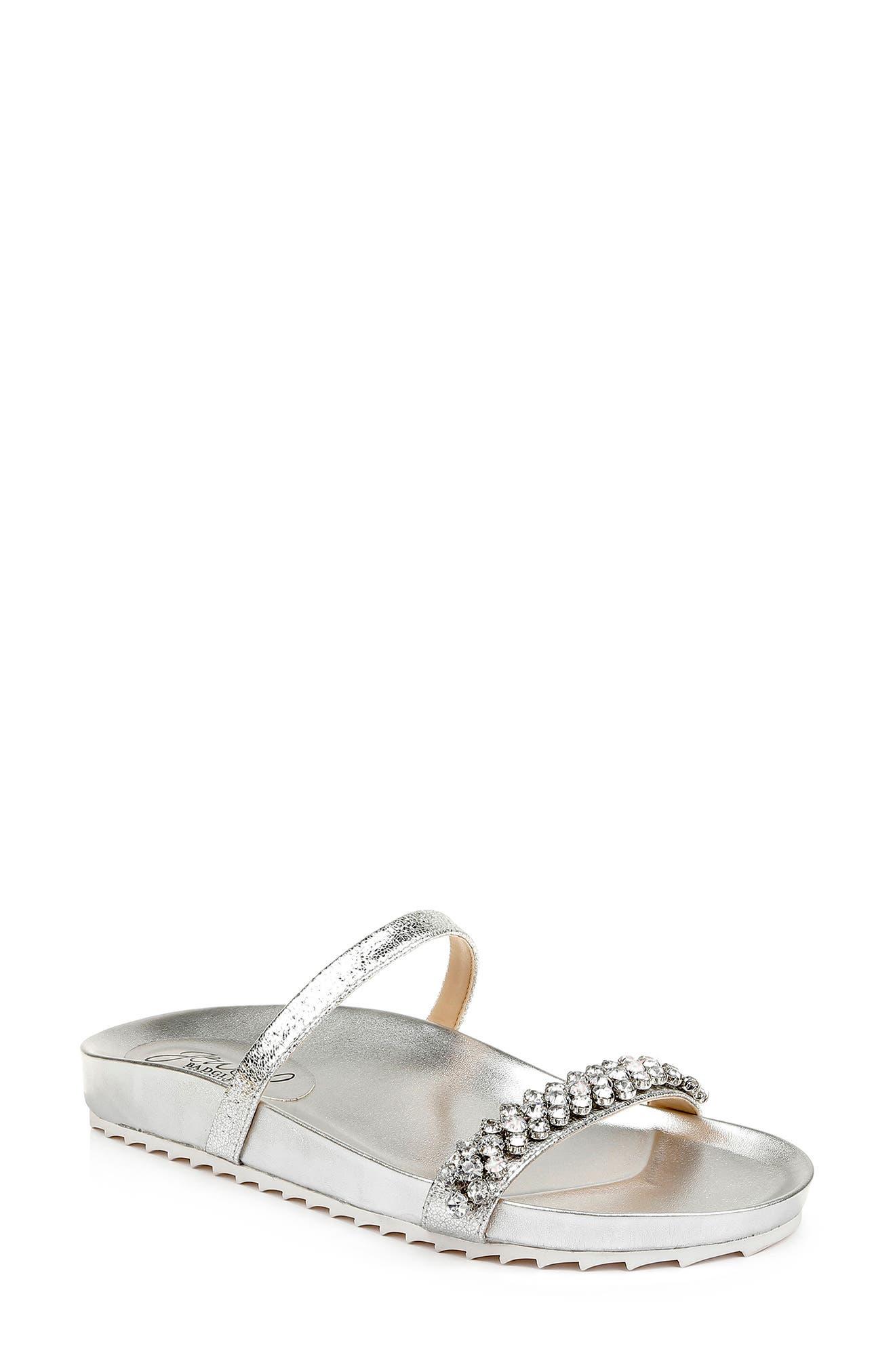 Crystal Slide Sandal
