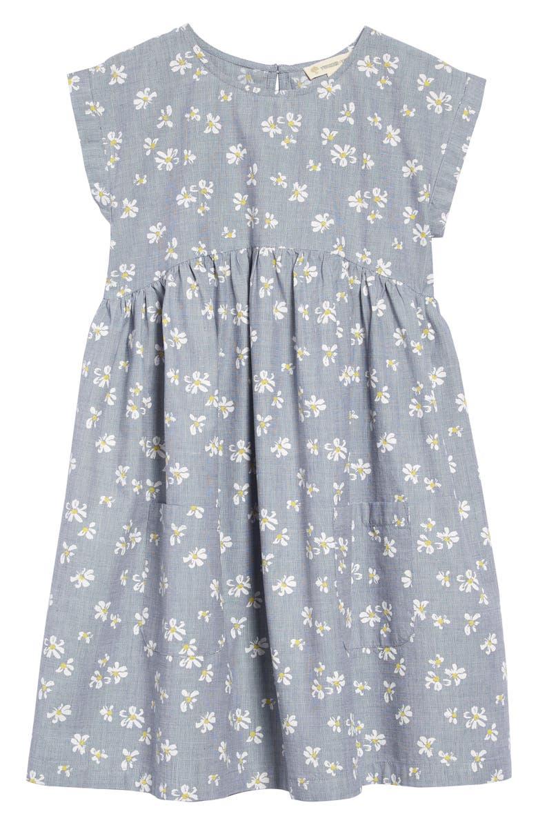 TUCKER + TATE Springtime Short Sleeve Dress, Main, color, 401