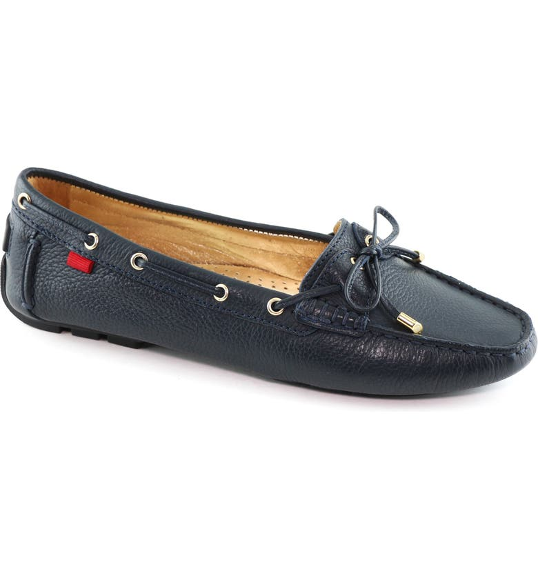 MARC JOSEPH NEW YORK Rockaway Loafer, Main, color, NAVY LEATHER