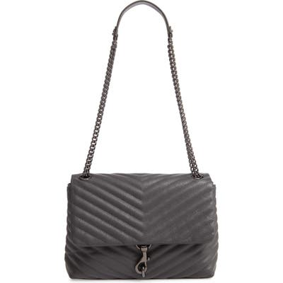 Rebecca Minkoff Edie Flap Quilted Leather Shoulder Bag -