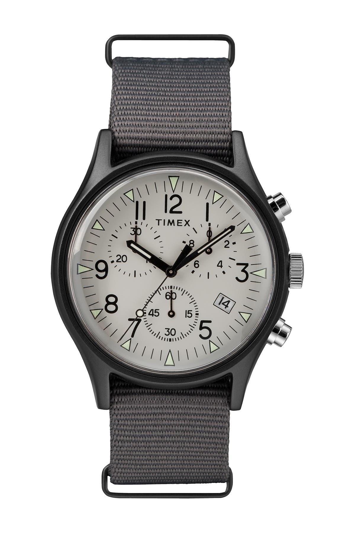 TIMEX (R) MK1 ALUM CHRONO WATCH