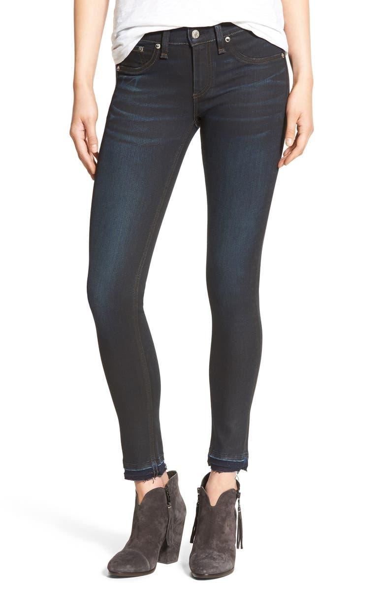 RAG & BONE/JEAN 'The Skinny' Skinny Jeans, Main, color, 406