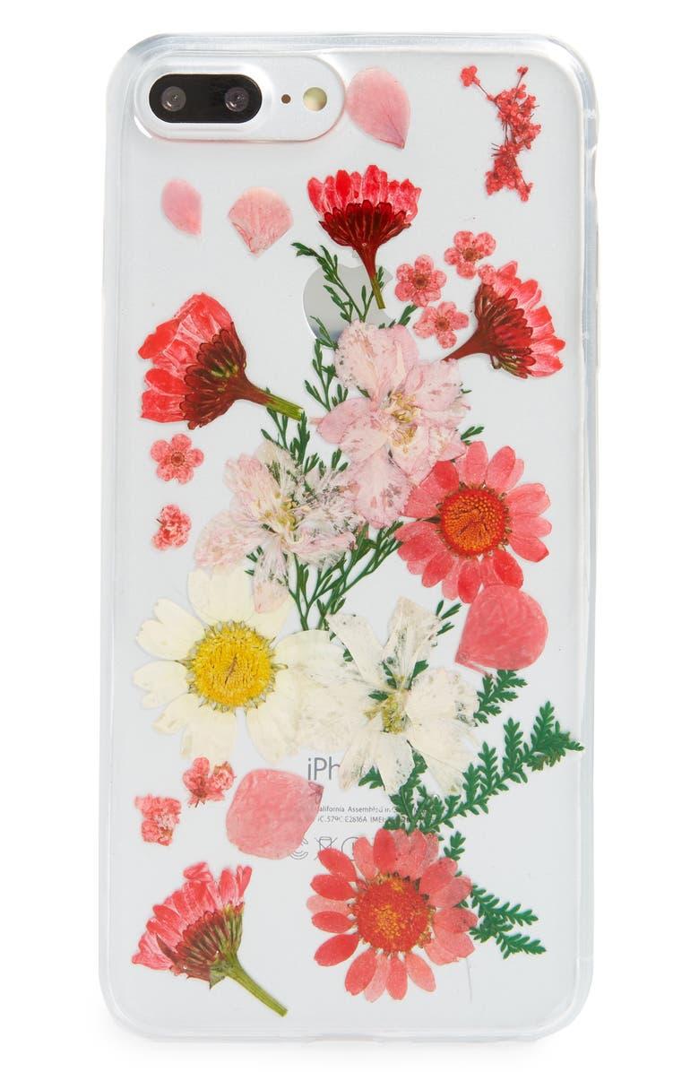 flowers iphone 8 plus case