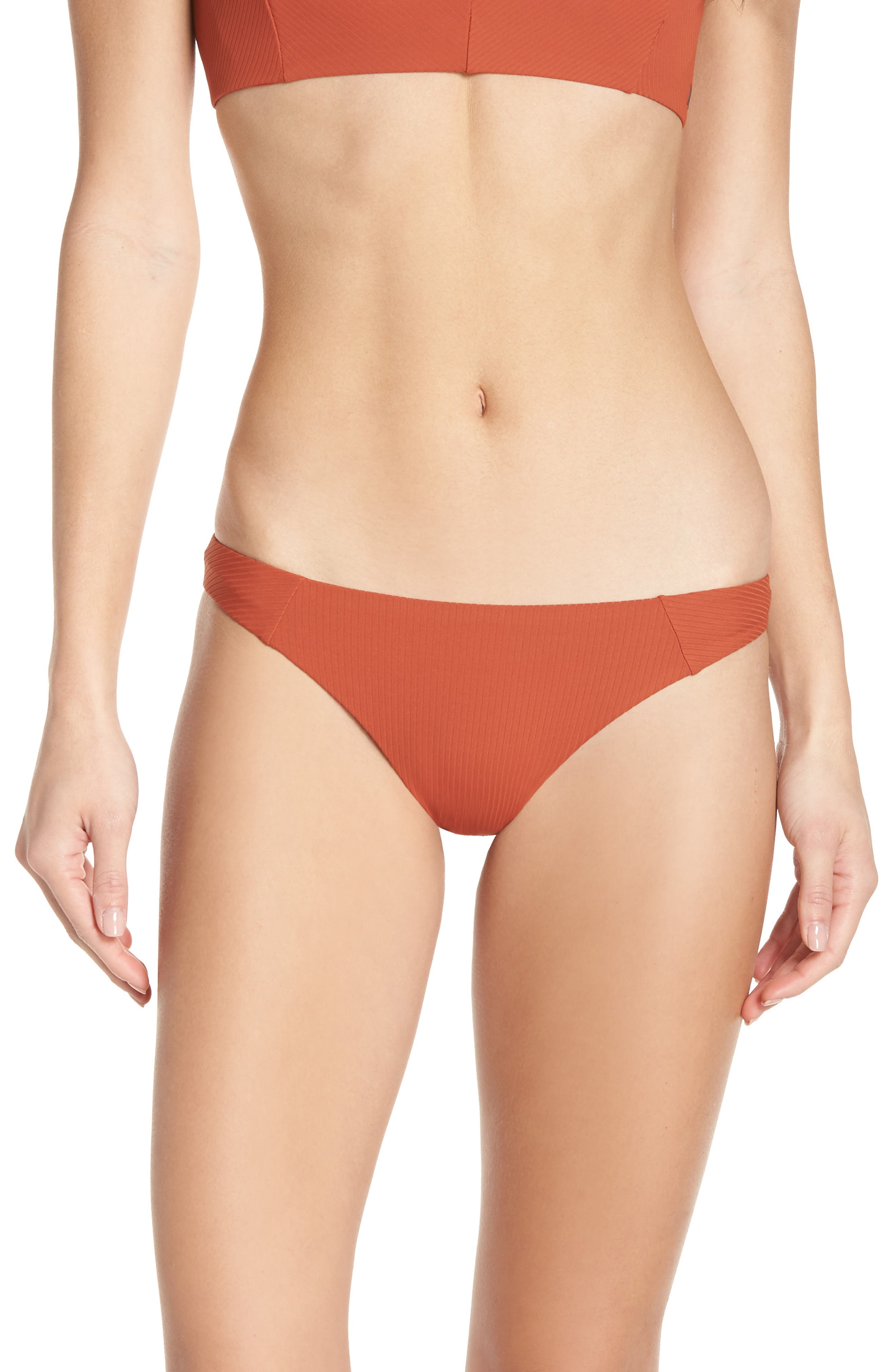 Hurley Quick-Dry Surf Bikini Bottoms, Orange