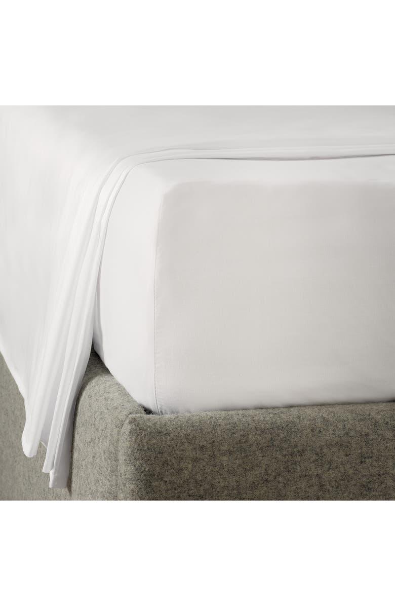 THE WHITE COMPANY Camborne 400 Thread Count Sheet Set, Main, color, WHITE