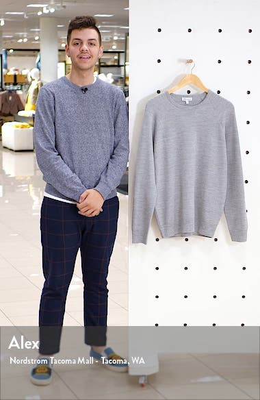Raglan Sleeve Honeycomb Knit Pullover, sales video thumbnail