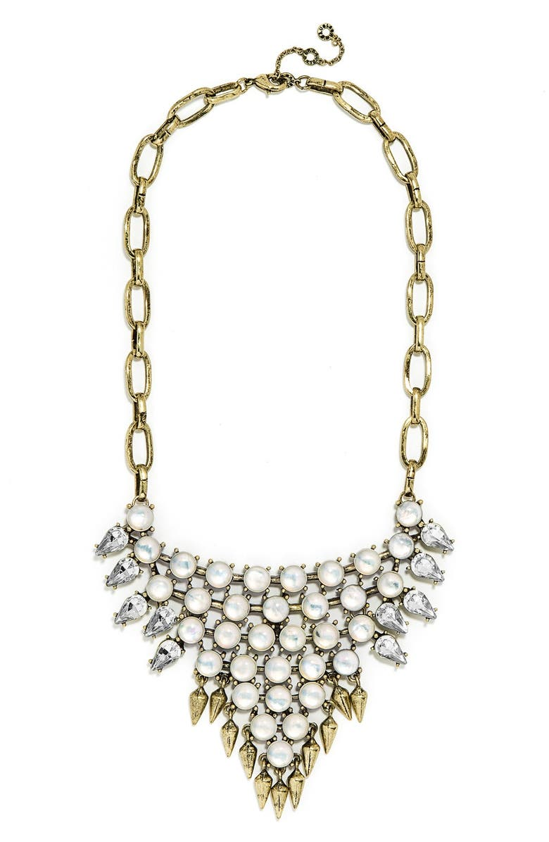 BAUBLEBAR 'Celestial Spike' Bib Necklace, Main, color, 710