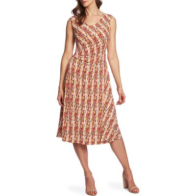 Chaus Sahara Sunrise Dress, White