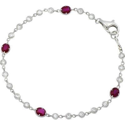 Bony Levy Diamond & Ruby Bracelet (Nordstrom Exclusive)