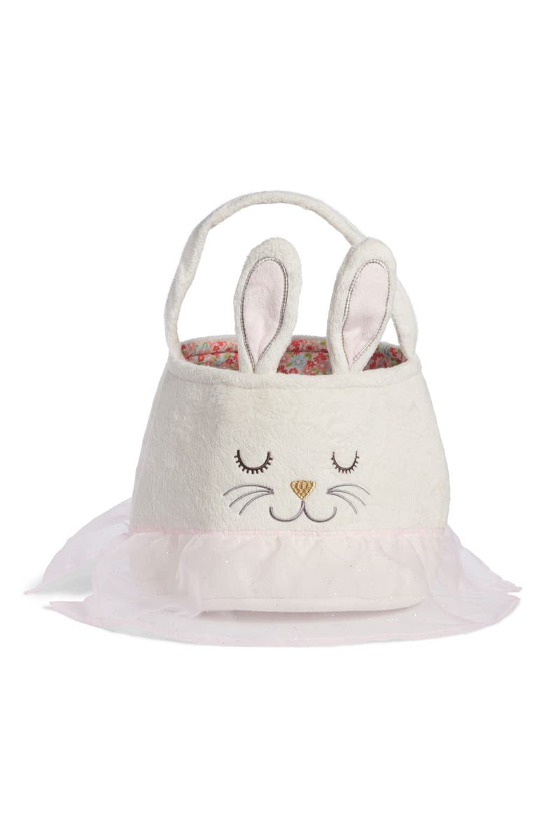 LEVTEX Bunny Easter Basket, Main, color, 100
