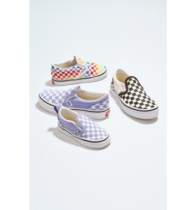 VANS Checkerboard Slip-On Sneaker, Main, color, 500