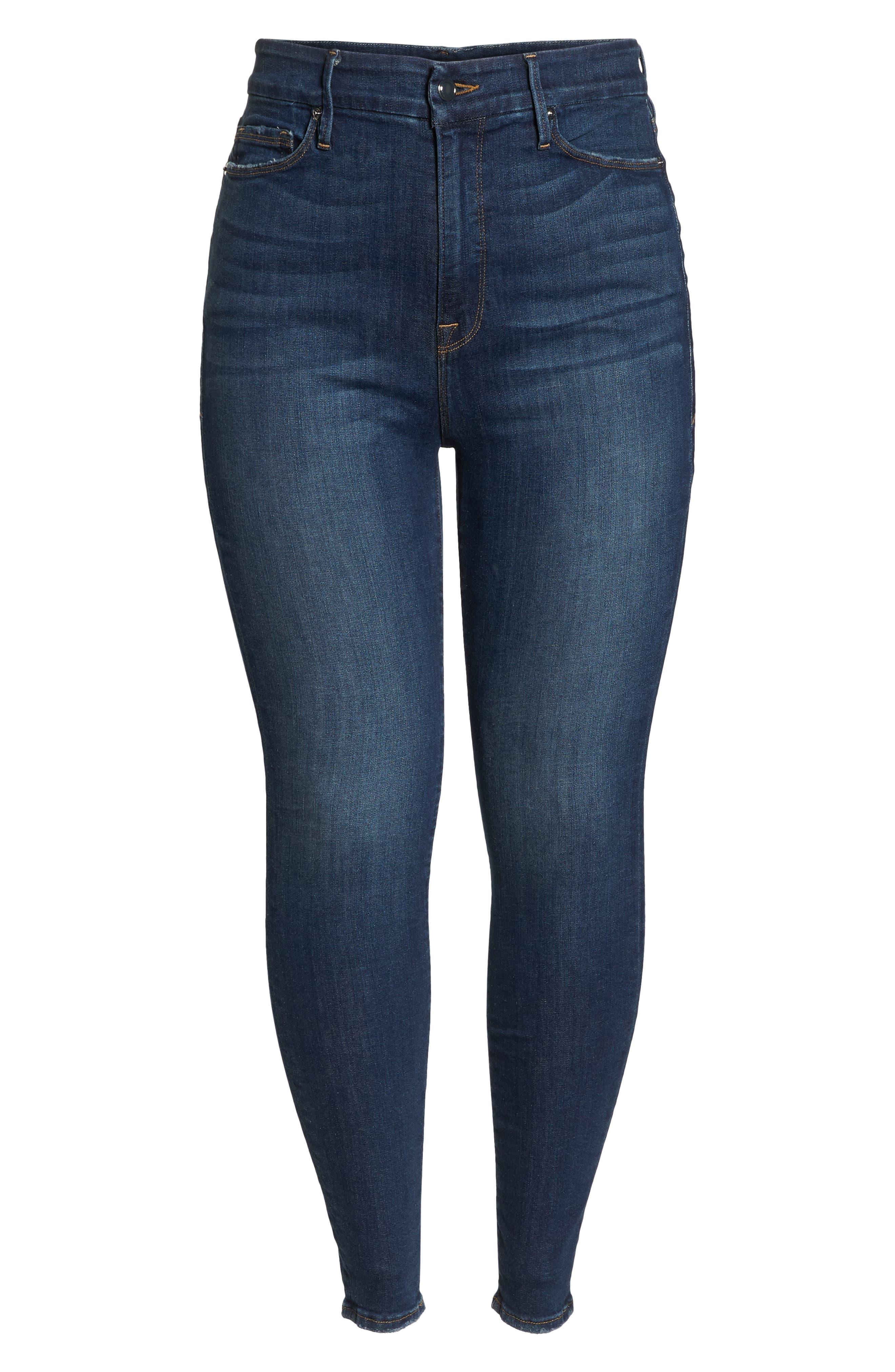,                             Good Legs High Waist Skinny Jeans,                             Alternate thumbnail 22, color,                             403
