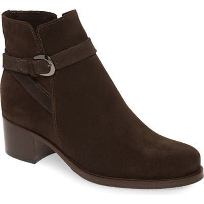 La Canadienne Pru Waterproof Bootie- Brown