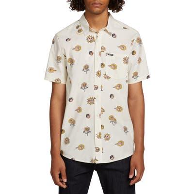 Volcom Peace Stones Print Shirt, White