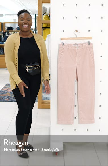 The Corduroy Straight Leg Crop Pants, sales video thumbnail