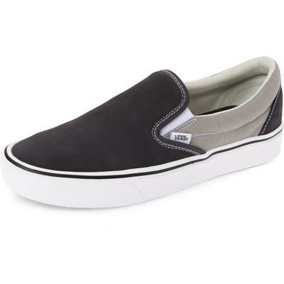 Vans Comfycush Slip-On Sneaker, Grey
