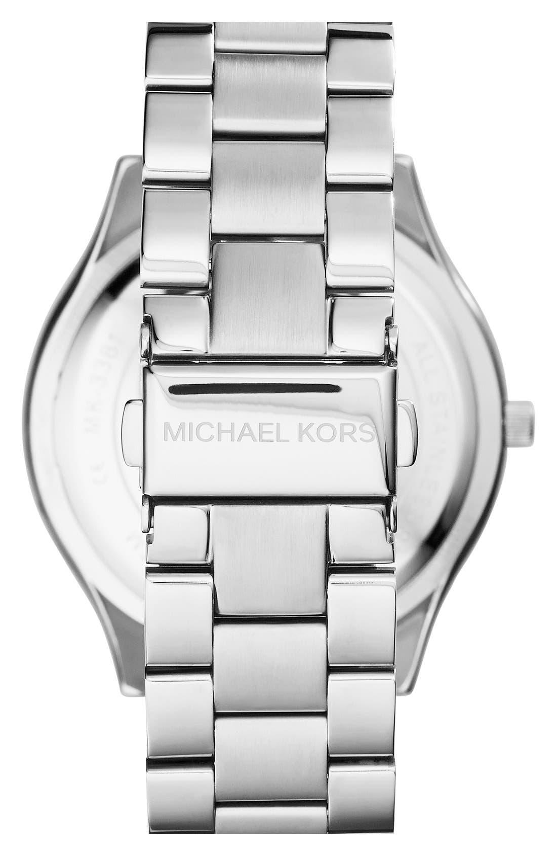 ,                             'Slim Runway' Bracelet Watch, 42mm,                             Alternate thumbnail 27, color,                             043