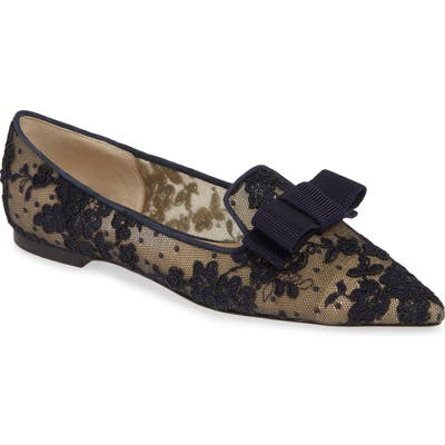 Jimmy Choo Gala Lace Loafer, Blue