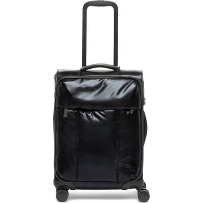 Calpak 21-Inch Soft Side Spinner Carry-On Suitcase - Black
