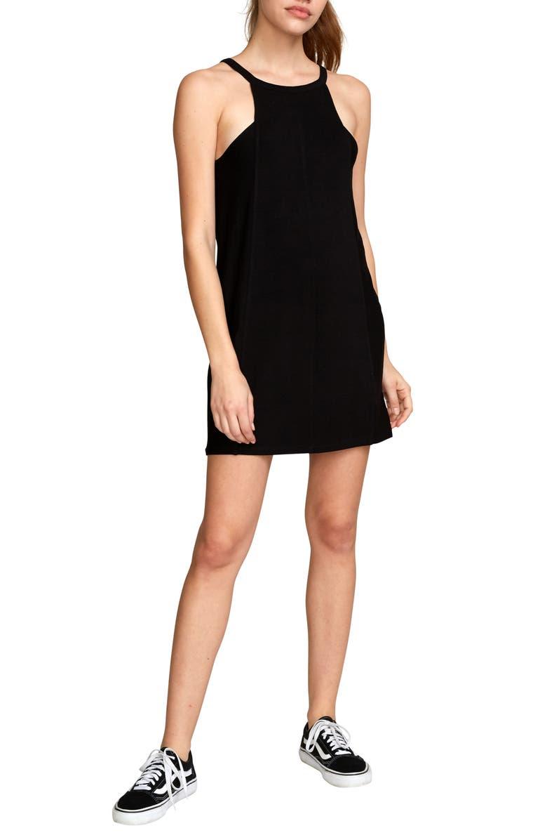 RVCA Bailey Minidress, Main, color, 001