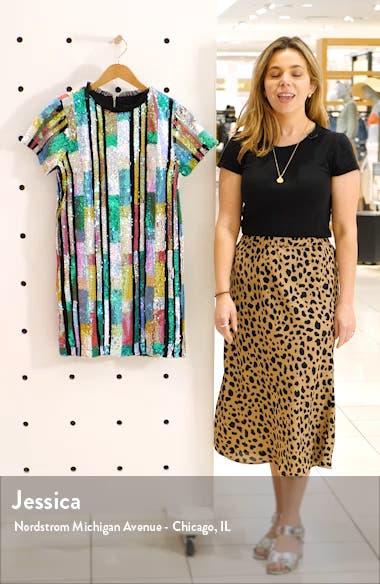 Multicolor Sequin Minidress, sales video thumbnail