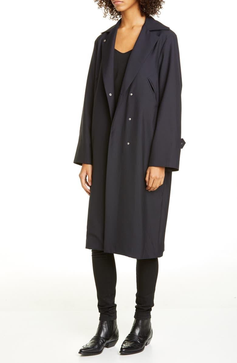 ROSEANNA Marcello Fern Trench Coat, Main, color, 400