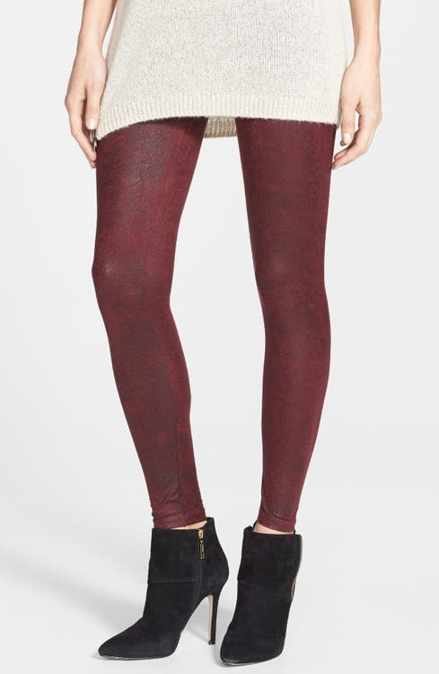 50f00a6b560ca7 Yummie by Heather Thomson Faux Leather Shaper Leggings | Nordstrom